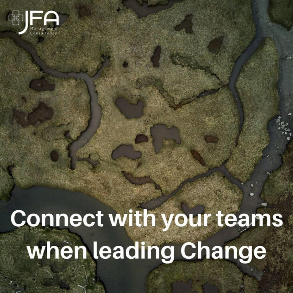 Leading Change, JFA, Jane Fisher Associates, Management Consultants, Leadership & Managing Change