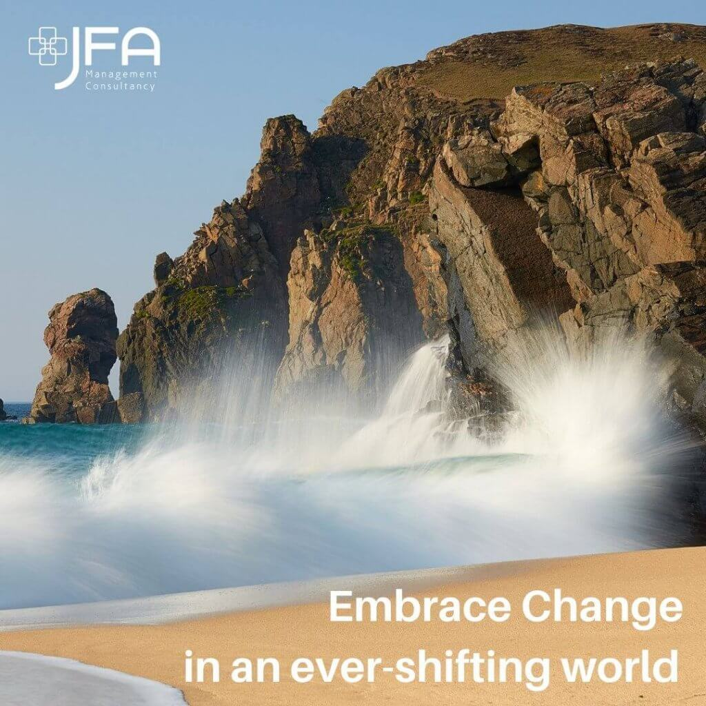 Embrace Change - JFA, Jane Fisher Associates, Management Consultants, Leadership & Managing Change